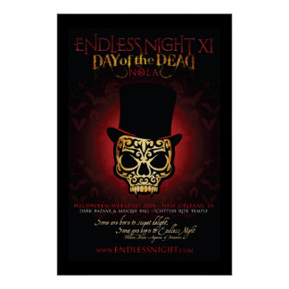 Endless Night: Day of the Dead 2008 Deluxe Poster