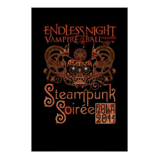 Endless Night: Steampunk Soirée 2011 Deluxe Poster