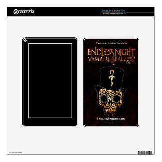 Endless Night Vampire Ball: Fred Samedi Kindle Fire Decal