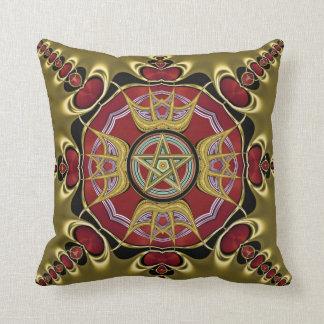 Endless Passion : Pentacle Symbol Cushion / Pillow