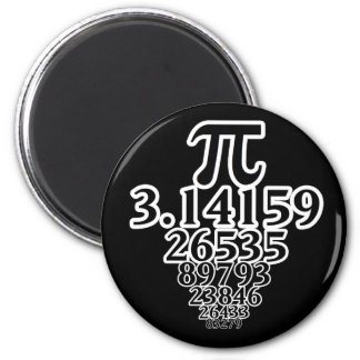 Endless Pi Day Fun to Infinity and Beyond! 2 Inch Round Magnet