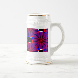 Endless Pinwheel by Kenneth Yoncich Beer Stein