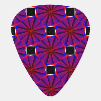 Endless Pinwheel by Kenneth Yoncich Guitar Pick