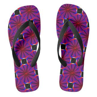 Endless Pinwheel Flip Flops