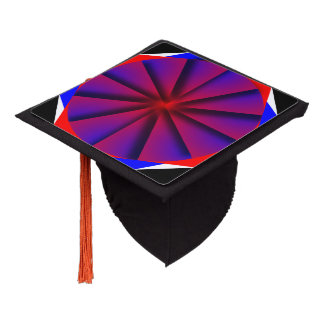 Endless Pinwheel Graduation Cap Topper