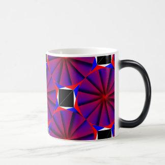 Endless Pinwheel Morphing Mug