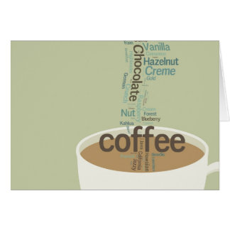 Endless Possibilities Coffee Note Cards