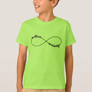 Endless Possibility - Infinity Symbol T-Shirt