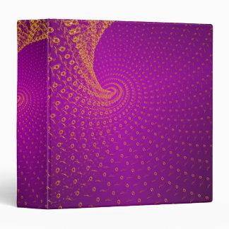 Endless purple 3 ring binder