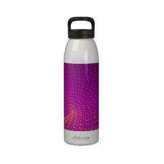 Endless purple water bottles