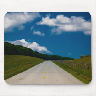 Endless road Blueridge Parkway Mouse Pad