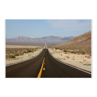 Endless Road - Death Valley Poster