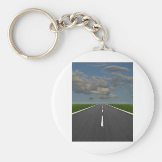 endless road keychain