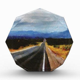 Endless Road - New Mexico. Acrylic Award