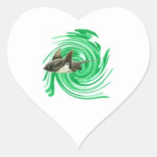 Endless Seas Heart Sticker
