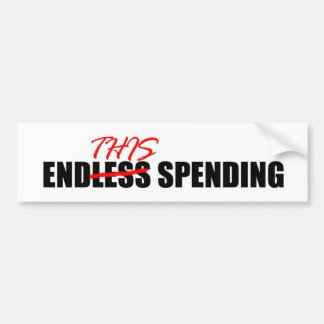 Endless Spending Bumper Sticker
