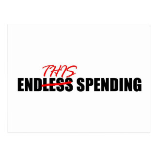 Endless Spending Postcard