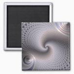 Endless Spirals - Fractal Art Magnet