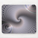 Endless Spirals - Fractal Art Mouse Pad