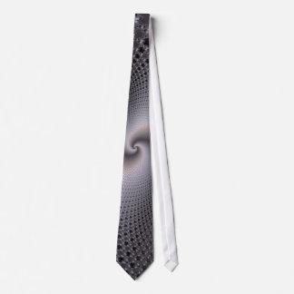Endless Spirals - Fractal Art Neck Tie