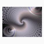 Endless Spirals - Fractal Art Postcard