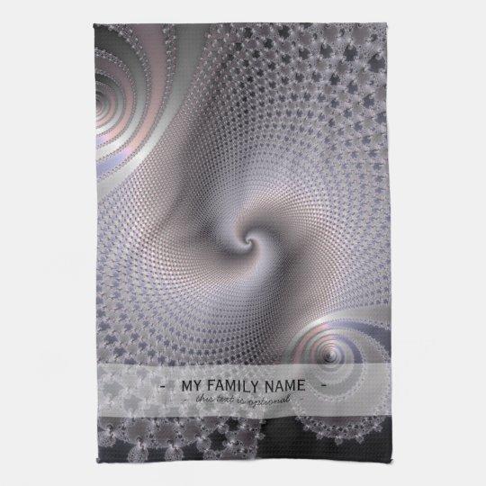 Endless Spirals - Fractal Art Towels