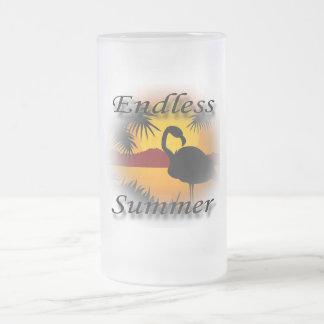 Endless Summer black Mugs