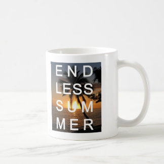 Endless Summer Classic White Coffee Mug