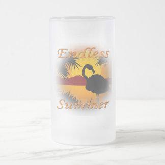 Endless Summer orange Mugs