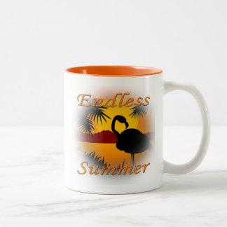 Endless Summer orange Mug