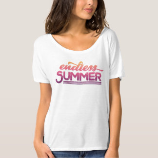 Endless Summer Vintage Typography T-Shirt