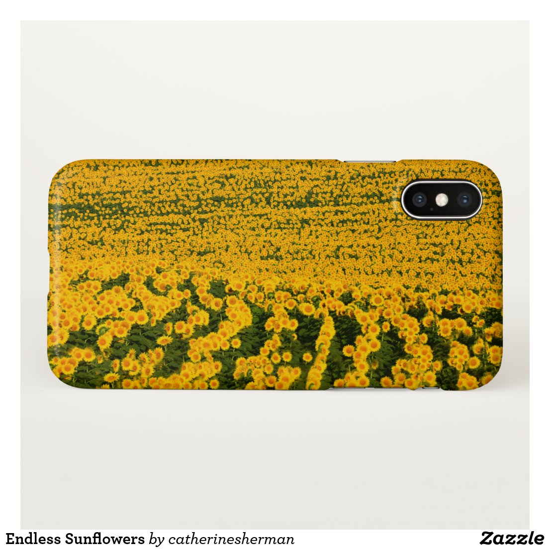 Endless Sunflowers iPhone X Case