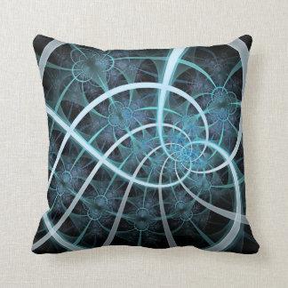 Endless Web Throw Pillow