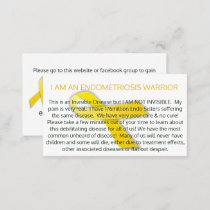 Endo Business / Awareness Card