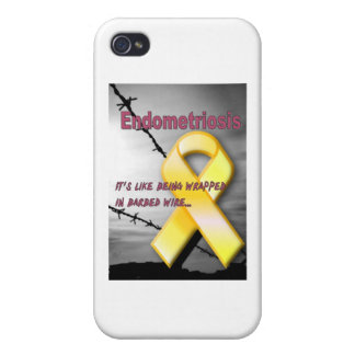Endo:  It's like being wrapped in barbed wire iPhone 4 Cover
