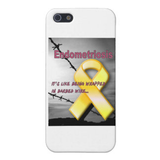 Endo:  It's like being wrapped in barbed wire iPhone 5 Cover