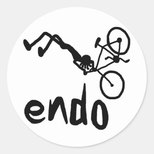 Endo Stick figure Sticker