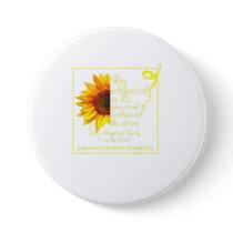 Endo Sunflower Warrior Endometriosis Awarene Button