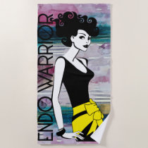 ENDO WARRIOR Beach Towel