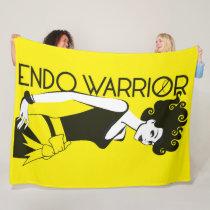 ENDO WARRIOR Fleece Blanket