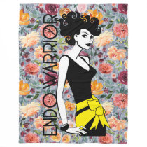 "ENDO WARRIOR Fleece Blanket, 60""x80"""