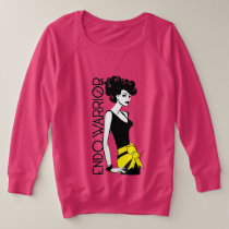ENDO WARRIOR Plus-Size French Terry Long Sleeve Plus Size Sweatshirt