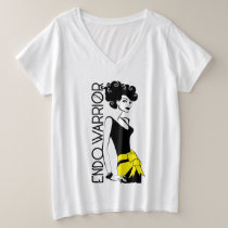 ENDO WARRIOR Plus-Size V-Neck T-Shirt