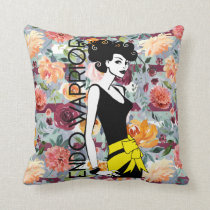 "ENDO WARRIOR Polyester Throw Pillow 16"" x 16"""