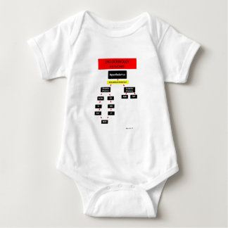Endocrine Systems Hormones Baby Bodysuit