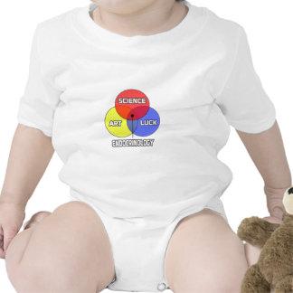 Endocrinología. Suerte del arte de la ciencia Traje De Bebé