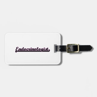 Endocrinologist Classic Job Design Tags For Bags