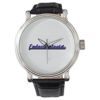 Endocrinologist Classic Job Design Wrist Watch