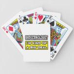 Endocrinologist .. I'm Kind of a Big Deal Bicycle Poker Cards