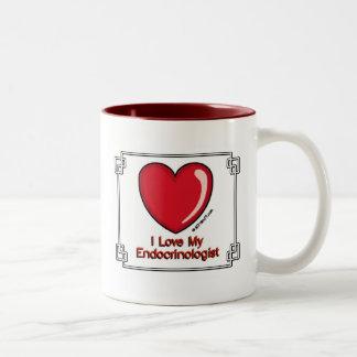 Endocrinologist Two-Tone Coffee Mug